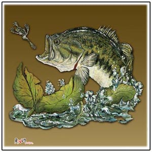 bass tournament tile art awards