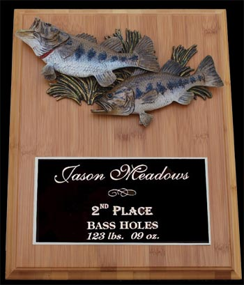 fishing tropies and fishing awards